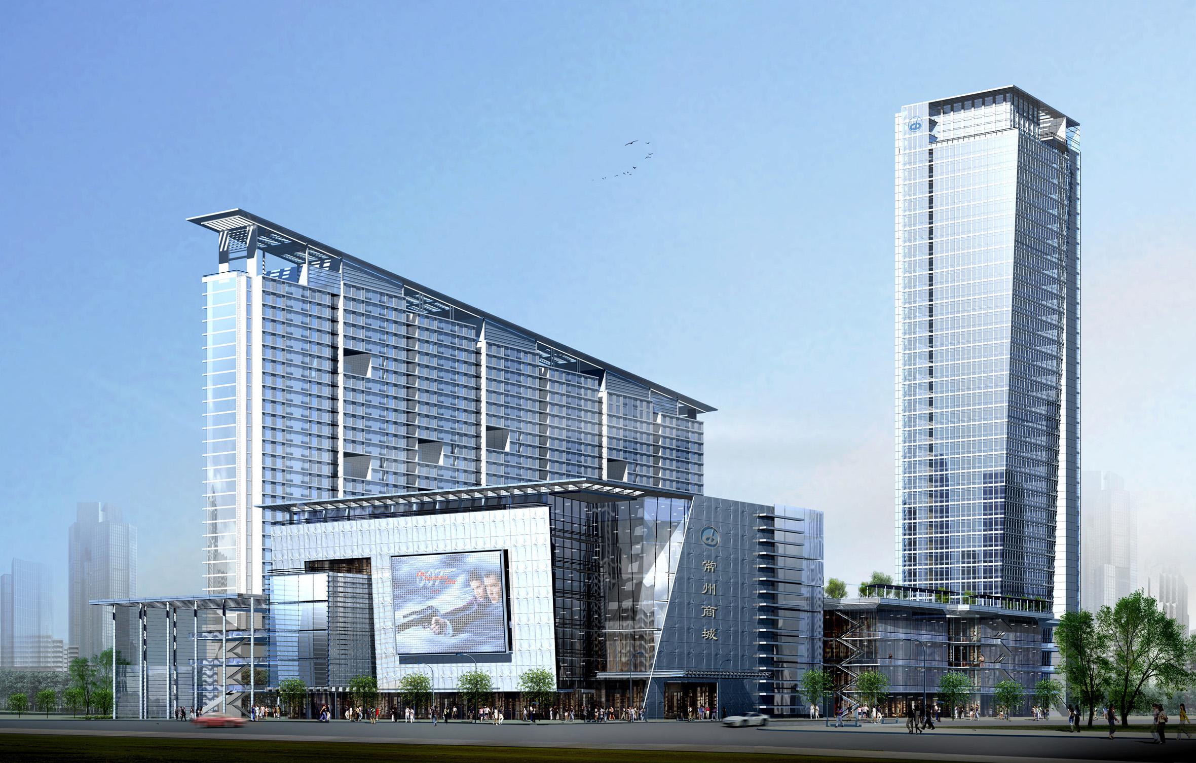 江苏.常州怀德广场商业中心